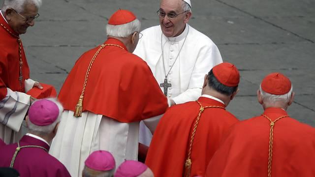 Papst Franziskus hat nach den Osterfeierlichkeiten nun Zeit für Personalentscheide