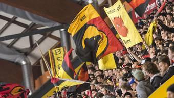 Die Anfeuerungsrufe der Berner Fans trugen Früchte