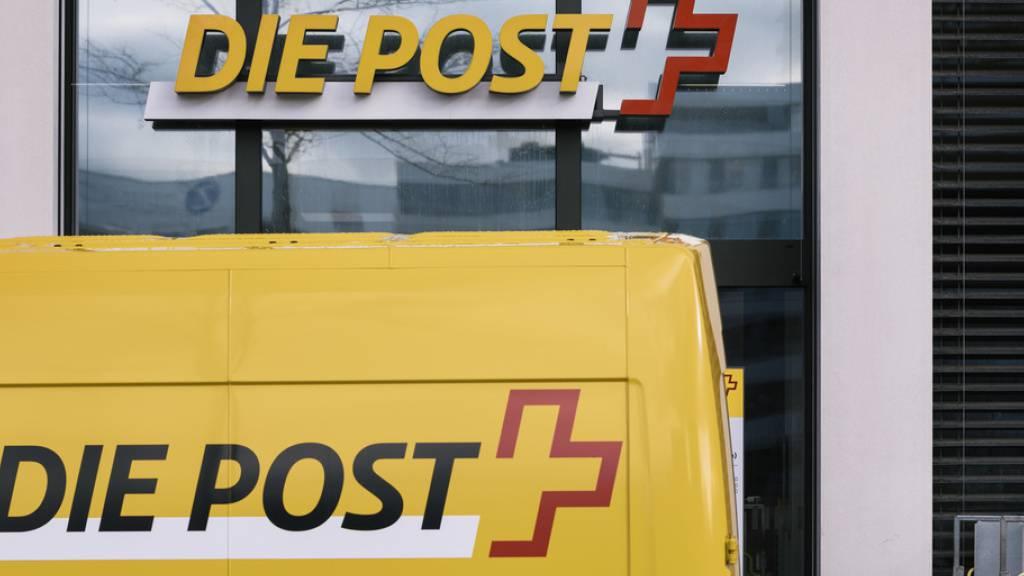 Der Konzerngewinn der Schweizerischen Post ist in den ersten drei Quartalen 2020 markant gesunken.