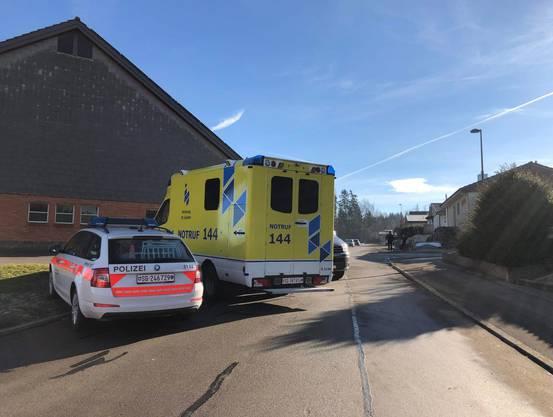 Ein 33-Jähriger löste in Niederuzwil einen grösseren Polizeieinsatz aus.