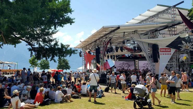 Jardin du Rivage mit RTS Bühne