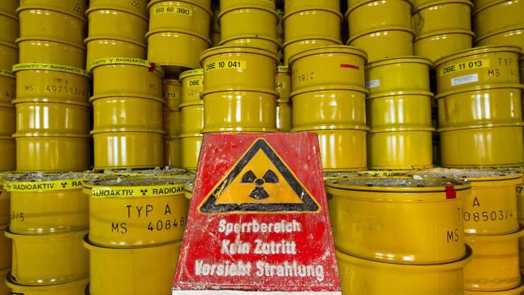Die Nagra plant im Kanton Aargau keine weiteren Probebohrungen. Im Bild: Atommüll im deutschen Endlager Morsleben.
