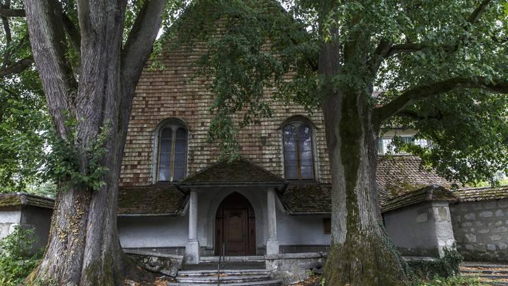 Verwunschen: Aussenansicht der Kapelle des Kapuzinerklosters.