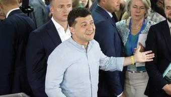 """Der ukrainische Staatschef Wolodymyr Selenskyj will """"neue Gesichter"""" in die Politik holen."""