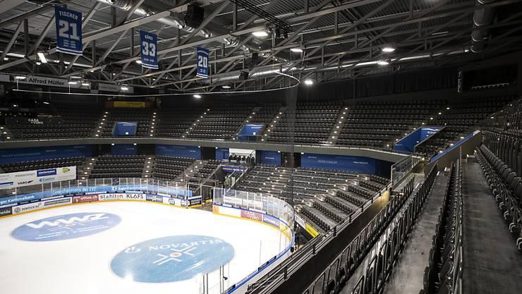 Das Zuger Stadion bleibt auch am kommenden Samstag leer