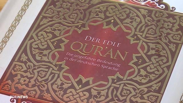 Wütende Reaktionen auf Koran-Aktion