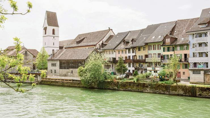 Die Gemeinde Mellingen will in der Kommunikation vermehrt auf Bilder setzen. Sujets bietet das Reussstädtli zur Genüge.