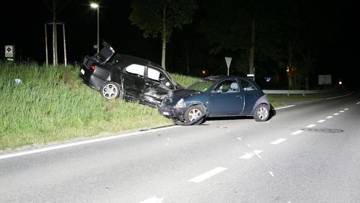 Der Unfallhergang ist noch nicht restlos geklärt. (Bild: Kapo Aargau)