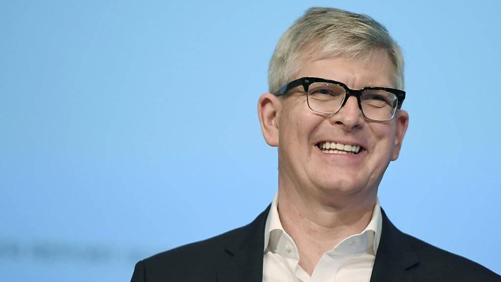 Ericsson-Chef Borje Ekholm kämpft gegen sinkende Umsätze. (Archiv)