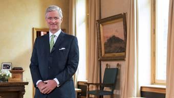 Heute erstmals offiziell zu Gast in der Schweiz: Philippe, König der Belgier.