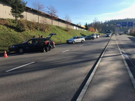 Fahrzeugkontrolle in Aarau Ost