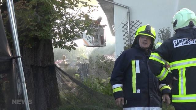 Hoher Sachschaden nach Brand in Magglingen
