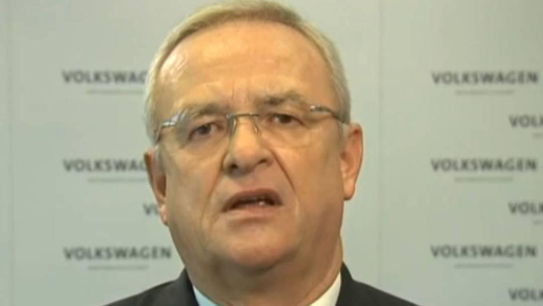 «Wir sind dabei, die Hintergründe schonungslos aufzuklären»: Die Video-Botschaft von VW-CEO Martin Winterkorn.