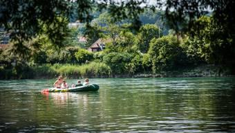 Zwischen 2015 und 2018 geschahen, mit einer Ausnahme, alle Ertrinkungsunfälle im Aargau in Flüssen. (Themenbild)