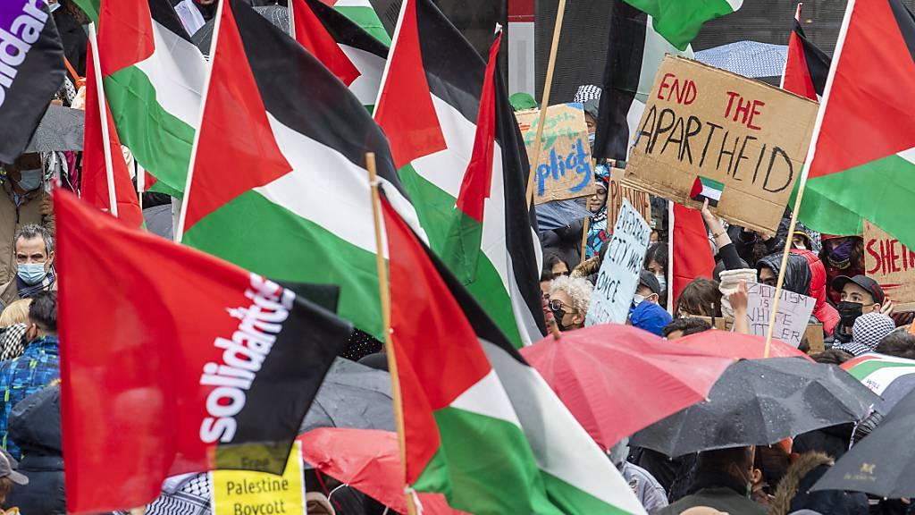 Solidaritätskundgebungen für Palästina in Basel und Genf