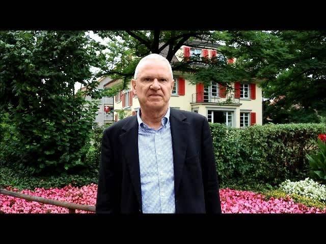 Werner Hogg (FDP) vom Komitee  (Anführung) Dietikon für die Limmattalbahn (Anführung) sagt, weshalb es die Bahn braucht