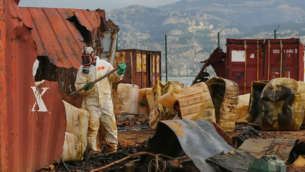 Giftige Chemikalien über Jahre ungeschützt im Beiruter Hafen gelagert