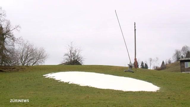 Schneemangel in Skigebieten