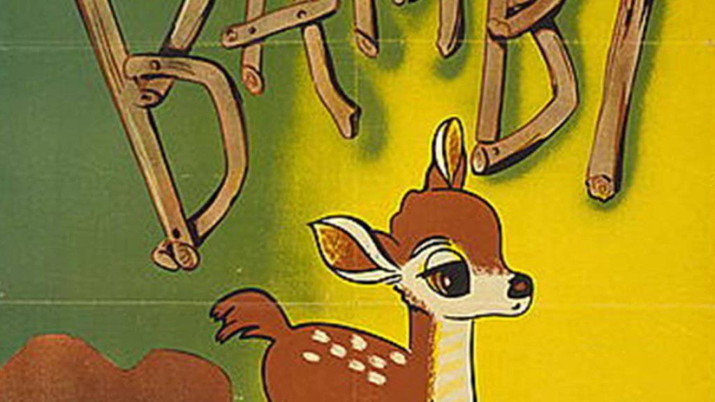 Ein Wilderer in den USA muss sich im Gefängnis regelmässig den Filmklassiker «Bambi» zu Gemüte führen, um sein Fehlverhalten einzusehen. (Archivbild)