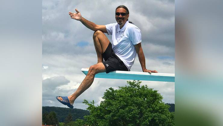 Olivier ist der neue Bademeister im Regibad Zurzach.