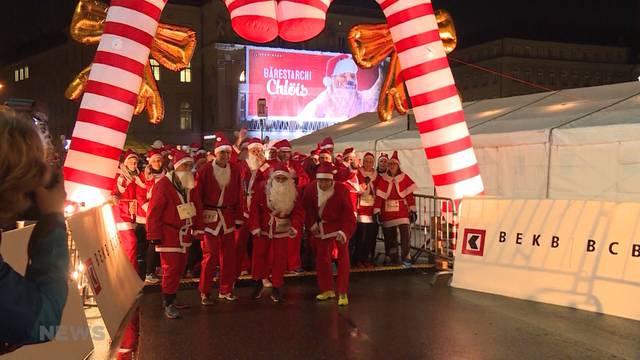 Santa-Run-Unterbruch wegen verdächtigem Päckchen