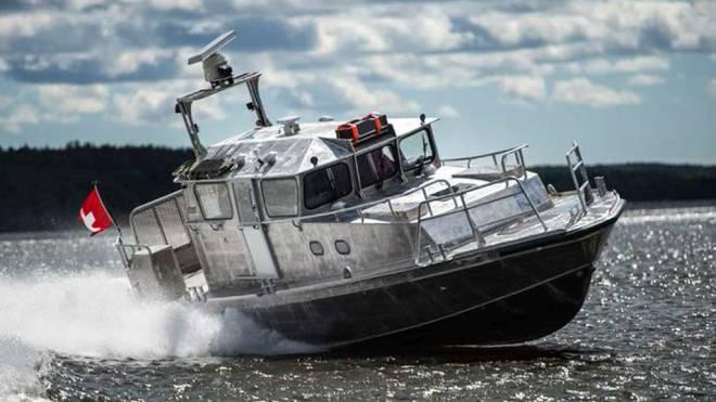 Soll Schweizer Seen überwachen: Das finnische Patrouillenboot 16. Foto: HO