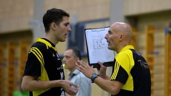 Die Anweisungen von Trainer Zharko Ristoski scheinen gewirkt zuhaben: Fran Peterlin war gegen Einsiedeln der beste Skorer.