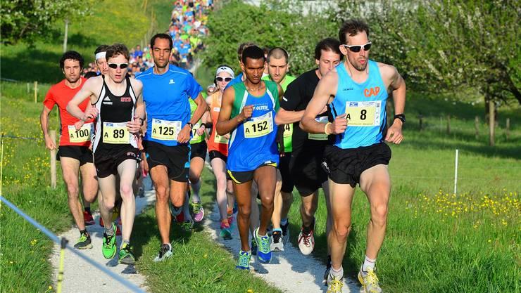 Vor den letzten drei Läufen der diesjährigen Jura Top Tour liegt der Tüfelsschlucht-Berglauf in Hägendorf auf Platz zwei, was die Teilnehmerzahl angeht. Bruno Kissling
