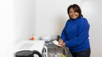 «Einfach anpacken»: Das ist das Motto von Rosilene Hagnauer. Seit sechs Jahren arbeitet sie bei Etcetera im Limmattal.
