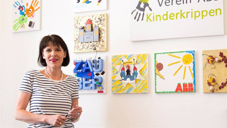 Jeannette Good führt seit 2002 den Verein ABB-Kinderkrippen.