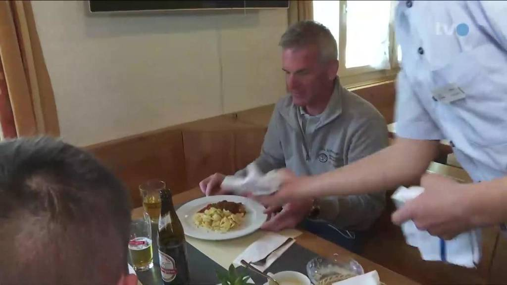 Beizen für Büezer: Endlich dürfen Bauarbeiter drinnen essen