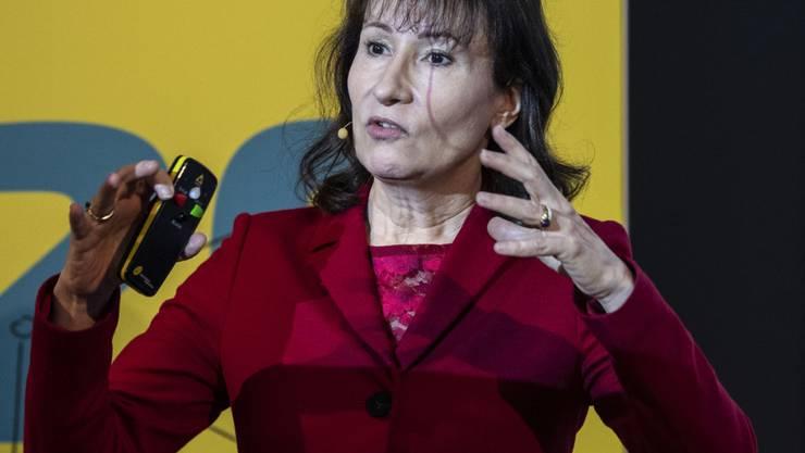 BKW-Chefin Suzanne Thoma erhielt für das Geschäftsjahr 2018 als Vergütung 2 Millionen Franken. (Archivbild)