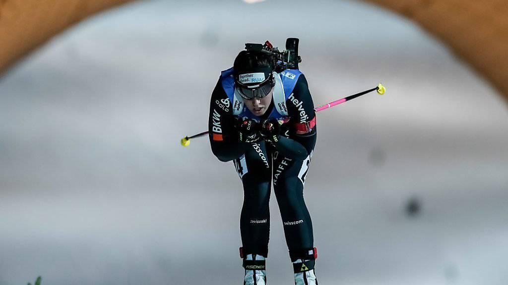 Lena Häcki konnte im ersten Wettkampf in Oberhof überzeugen