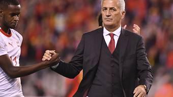 Nationaltrainer Vladimir Petkovic sah gegen Belgien trotz der Niederlage eine über weite Strecken gute Leistung seiner Mannschaft