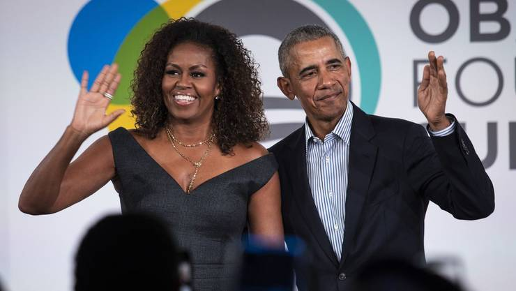 Barack und Michelle Obama haben sich eine Luxusliegenschaft gekauft. (Archiv)