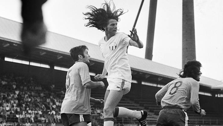 Berühmt wurde René Botteron im Trikot des FC Zürich mehr dank seines Spielstils als aufgrund der wilden Frisur