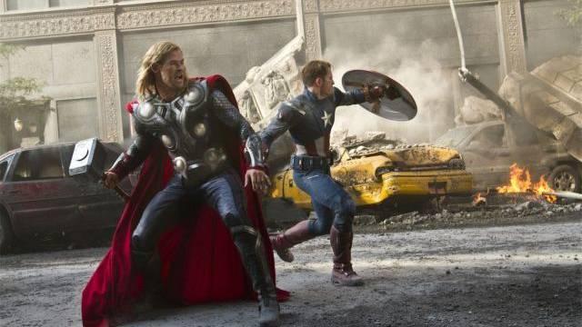 Der Actionstreifen «The Avengers» schaffte es im ersten Kinohalbjahr als einziger 3-D-Film in die Top 5. Foto: ho