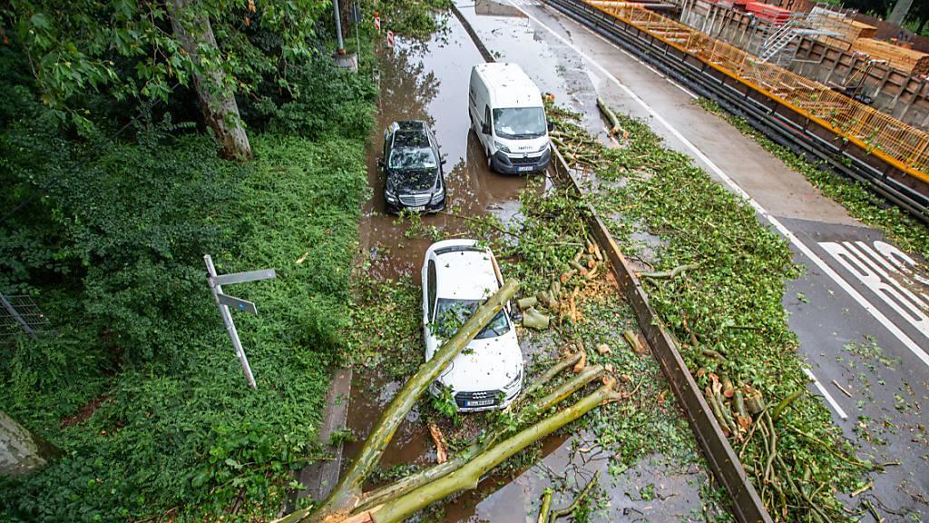 Experten schätzen Unwetterschäden im Juni auf 2,5 Milliarden Euro