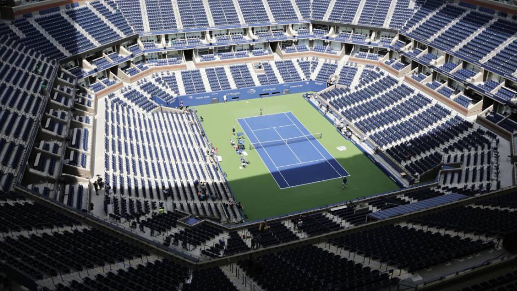 Alles schaut auf das US Open
