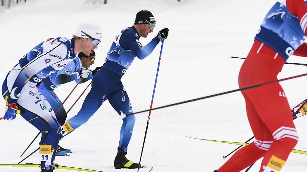 Dario Cologna mit Platz 20 bester Schweizer