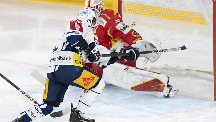 Yannik Zehnder bringt Zug 1:0 in Führung.