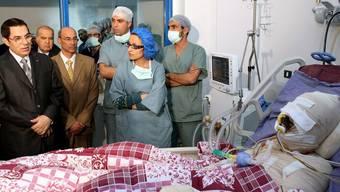 Der Tunesier, der sich am 17. Dezember selbst anzündete, erlag im Spital seinen Verletzungen (Archiv)