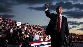 Auf seine Fans kann sich Donald Trump verlassen.
