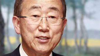 Spricht vor dem Schweizer Parlament: UNO-Generalsekretär Ban Ki Moon (Archiv)