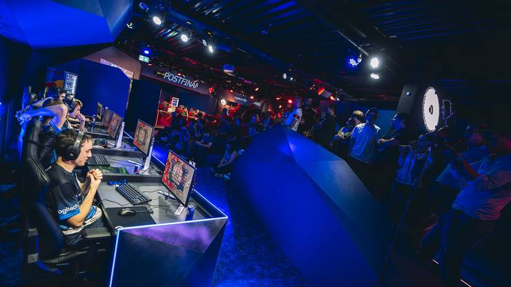 Esports Event in der Red Bull Gaming World by Logitech G in Luzern  Credits Armon Ruetz  Red Bull Content Pool