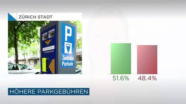 Parkieren in Zürich wird teurer