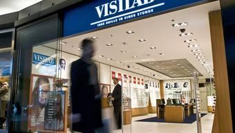 Der Schweizer Marktführer Visilab wird niederländisch: Der Brillenhändler Grandvision hat die Mehrheit gekauft. Operativ ändert sich aber nichts. (Archiv)