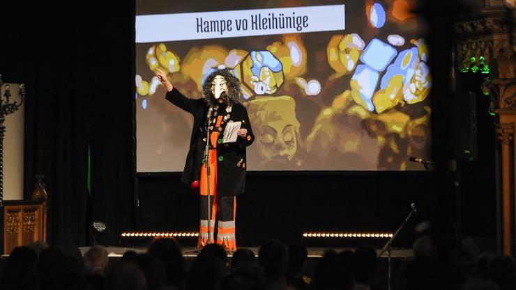 Das Kòpfladäärnli feiert in der Elisabethenkirche Premiere.
