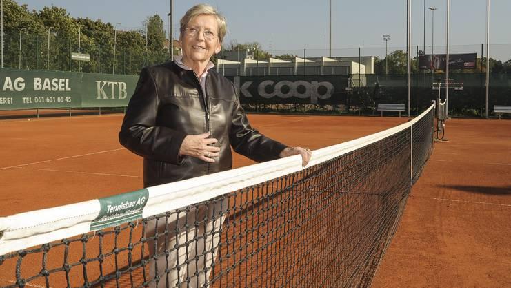 Erste Tennis-Trainerin