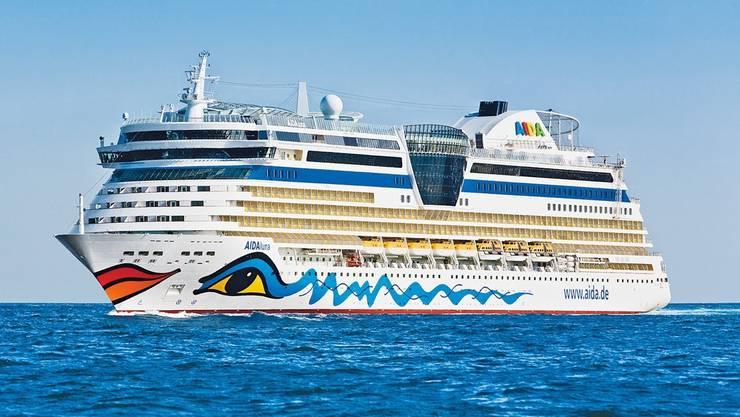 Das Kreuzfahrtschiff Aidaluna